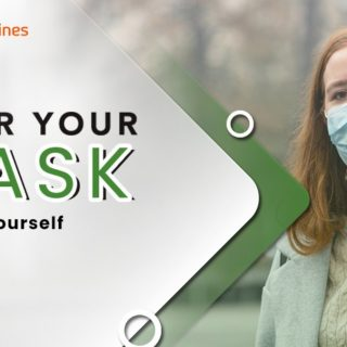 Wear a mask and maintain social distancing to keep yourself protected from COVID1-19 and those around you.  Click on - https://cutt.ly/6bBnK24  #covid19 #coronavirus #covid #ehealthmagazines #health #fitness